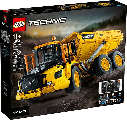 LEGO® TECHNIC - 6x6 VOLVO ARTICULATED HAULER - 42114