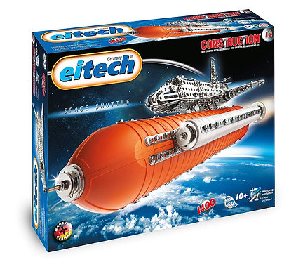 EITECH DELUXE - SPACE SHUTTLE WITH BOOSTER CONSTRUCTION SET - C12