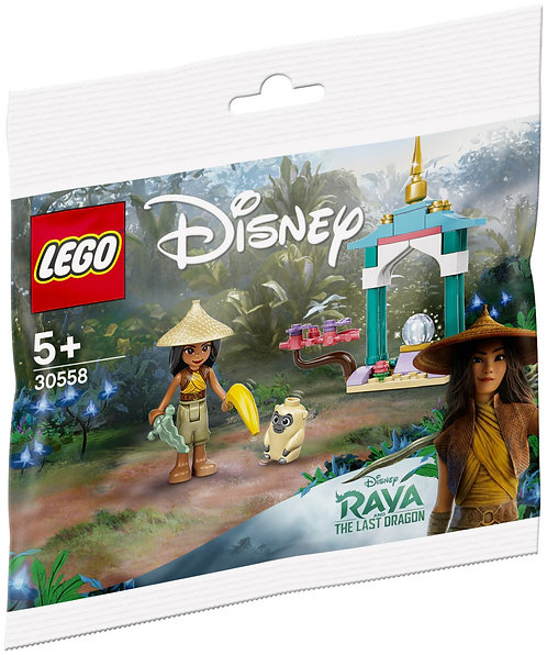 LEGO® DISNEY - RAYA AND THE OGNI'S HEARTLANDS - 30558