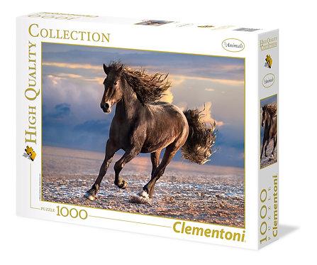 1000PC PUZZLE - FREE HORSE - 394203