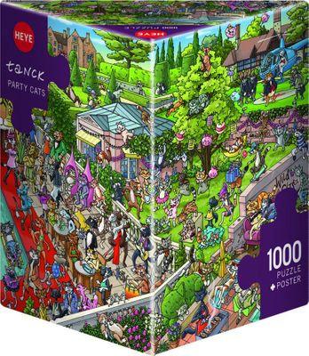 1000PC PUZZLE - PARTY CATS - 29838