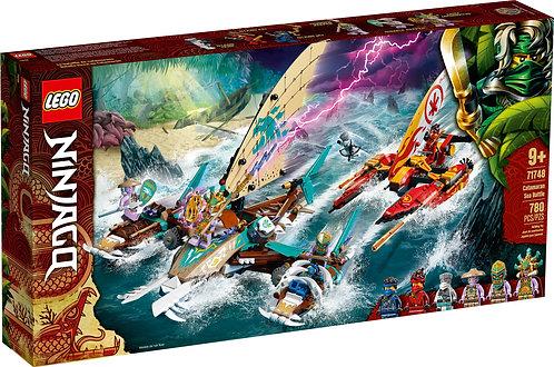 LEGO® NINJAGO - CATAMARAN SEA BATTLE - 71748