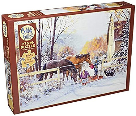 275PC PUZZLE - FIRST SNOW - 88018