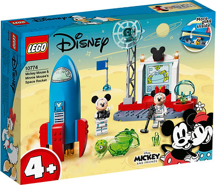 LEGO® JUNIORS (=4+) - MICKEY MOUSE & MINNI MOUSE'S SPACE ROCKET - 10774