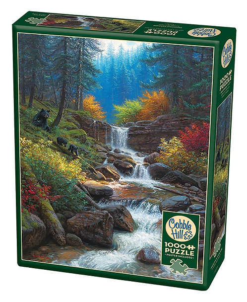 1000PC PUZZLE - MOUNTAIN CASCADE - 80230