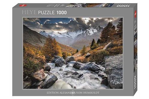 1000PC PUZZLE - MOUNTAIN STREAM - 29712