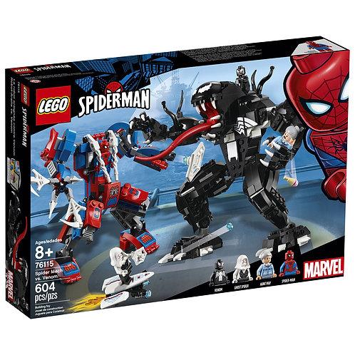 LEGO® SUPER HEROES - SPIDER MECH VS VENOM - 76115
