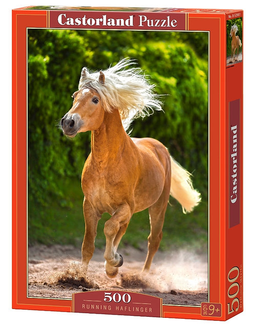 500PC PUZZLE - RUNNING HAFLINGER - 52981
