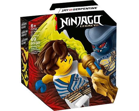 LEGO® NINJAGO - EPIC BATTLE SET JAY VS SERPENTINE -71732