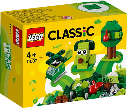LEGO® CLASSIC - CREATIVE GREEN BRICKS - 11007