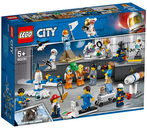 LEGO® - CITY- CITY SPACE PORT-PEOPLE PACK-SPACE RESEARCH AND DEVELOPMENT-60230