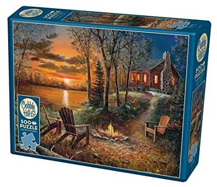 500PC PUZZLE - FIRESIDE - 85009