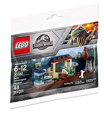 LEGO® JURASSIC WORLD - BABY VELOCIRAPTOR PLAYPEN - RECRUITMENT PACK- 30382