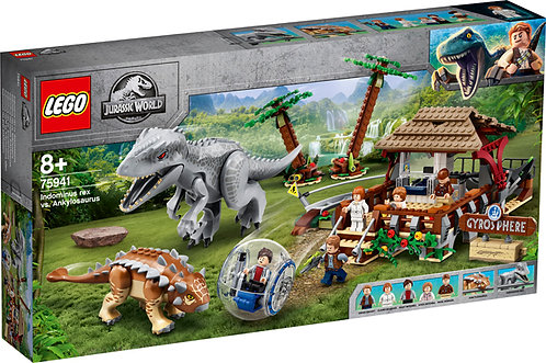 LEGO® JURASSIC WORLD - INDOMINUS REX VS. AMKYLOSAURUS - 75941