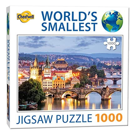 1000PC PUZZLE - PRAGUE BRIDGES - 13992