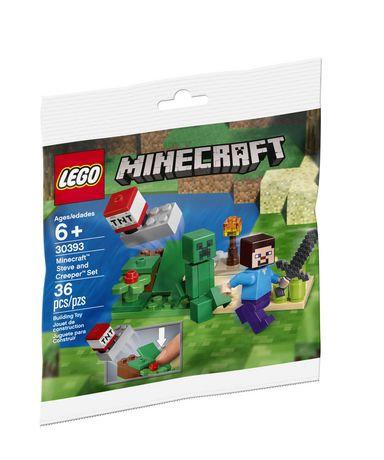 LEGO® MINECRAFT - 30393 STEVE & CREEPER