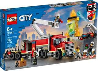 LEGO® CITY - FIRE COMMAND UNIT - 60282