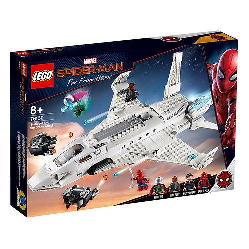 LEGO® SUPERHEROES - SPIDERMAN - STARKJET DRONE ATTACK - 76130