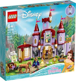 LEGO® DISNEY - BELLE AND THE BEAST'S CASTLE - 43196