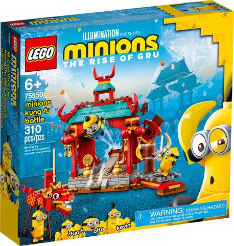 LEGO® MINIONS - MINIONS KUNG FU BATTLE - 75550