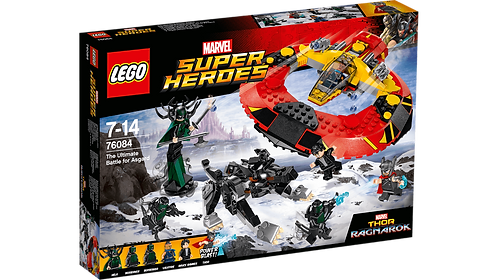 LEGO® SUPER HEROES - THE ULTIMATE BATTLE FOR ASGARD