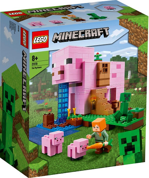 LEGO® MINECRAFT - THE PIG HOUSE - 21170