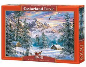 1000PC PUZZLE - MOUNTAIN CHRISTMAS - 104680