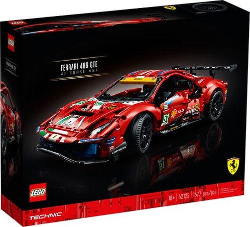 LEGO® TECHNIC - FERRARI 488 GTE - 42125