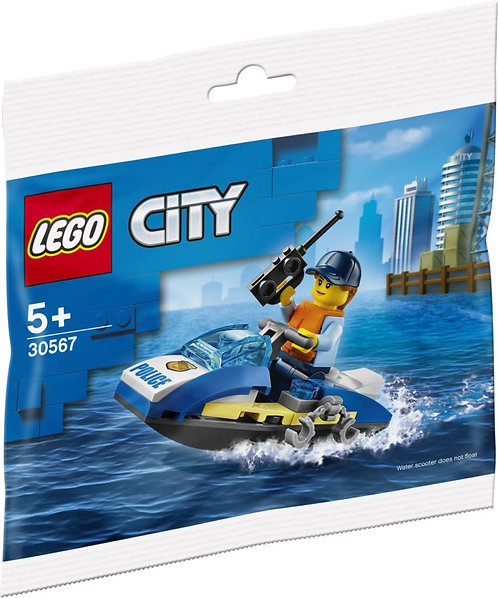 LEGO® CITY - POLICE WATER SCOOTER - 30567