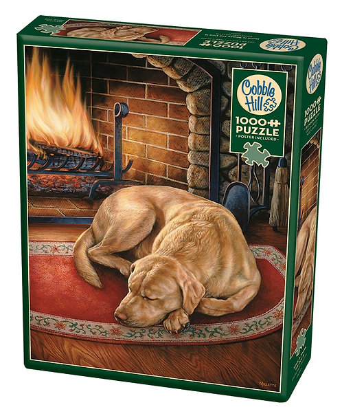 1000PC PUZZLE - HOME IS WHERE THE DOG IS - 80197