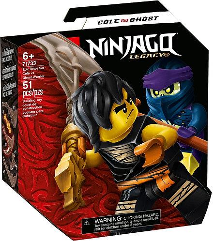 LEGO® NINJAGO - EPIC BATTLE SET COLE VS GHOST WARRIOR - 71733