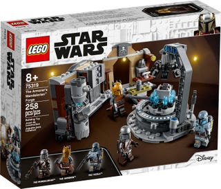LEGO® STAR WARS - THE ARMORER'S MANDALORIAN FORGE - 75319
