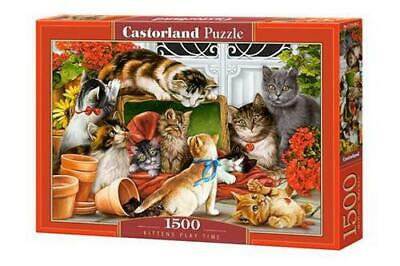 1500PC PUZZLE - KITTEN'S PLAY TIME -151639