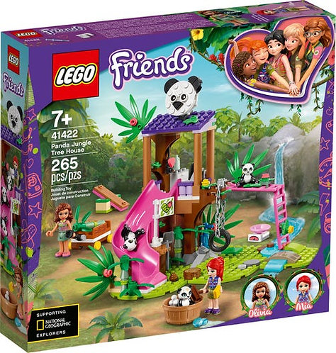 LEGO® FRIENDS - PANDA JUNGLE TREE HOUSE - 41422