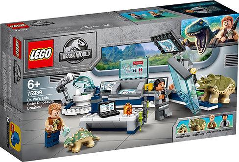 LEGO® JURASSIC WORLD - DR WU'S LAB: BABY DINOSAURS - 75939
