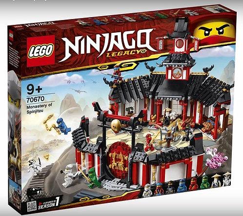 LEGO® NINJAGO - MONASTERY OF SPINJITSU