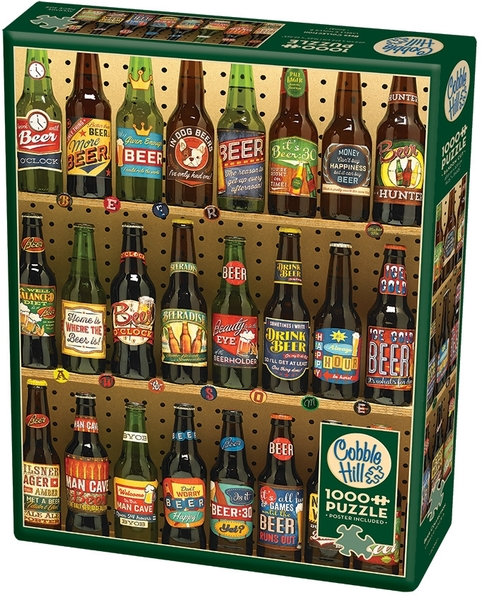 1000PC PUZZLE - BEER COLLECTION - 80082