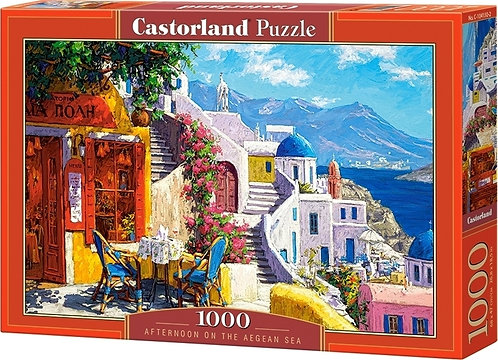 1000PC PUZZLE - AFTERNOON ON THE AEGEAN SEA - 104130
