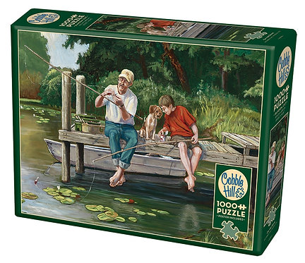 1000PC PUZZLE - ON THE DOCK - 80159