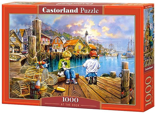 1000PC PUZZLE - AT THE DOCK - 104192
