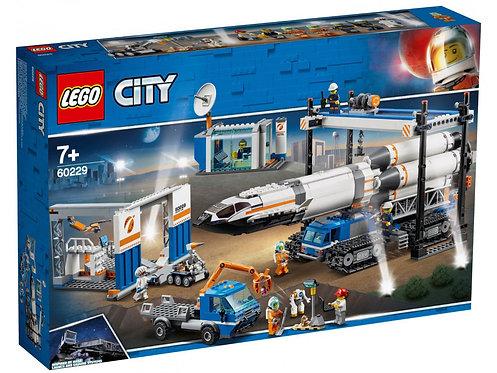 LEGO® - CITY - CITY SPACE PORT - ROCKET ASSEMBLY & TRANSPORT - 60229-