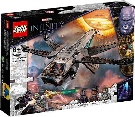 LEGO® SUPER HEROES - BLACK PANTHER DRAGON FLYER - 76186