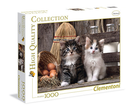 1000PC PUZZLE - LOVELY KITTENS - 39340
