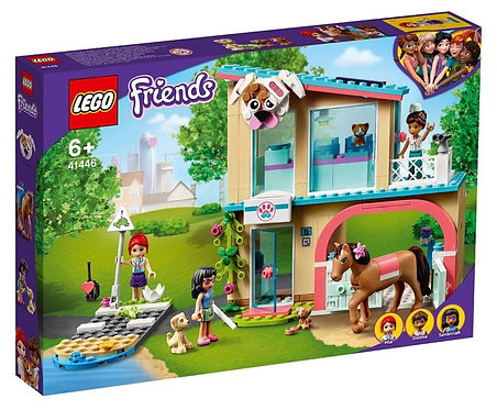 LEGO®FRIENDS - HEARTLAKE CITY VETCLINIC - 41446