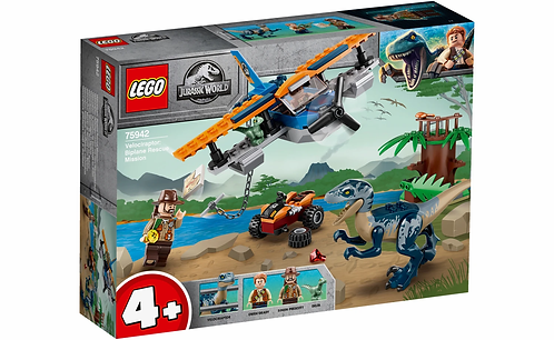 LEGO® JURASSIC WORLD - VELOCIRAPTOR: BIPLANE RESCUE MISSION - 75942