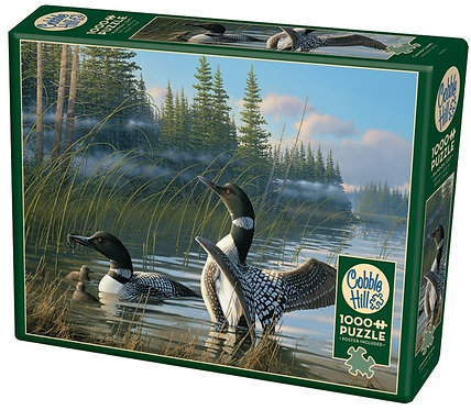 1000PC PUZZLE - COMMON LOONS - 80107