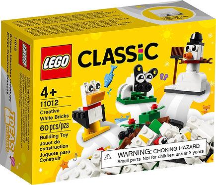 LEGO® CLASSIC - CREATIVE WHITE BRICKS - 11012