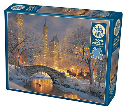 500PC PUZZLE - WINTER IN THE PARK - 85041