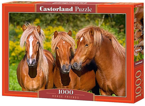 1000PC PUZZLE - HORSE FRIENDS - 103959