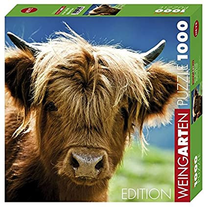 1000PC PUZZLE - HIGHLAND COW - 29745